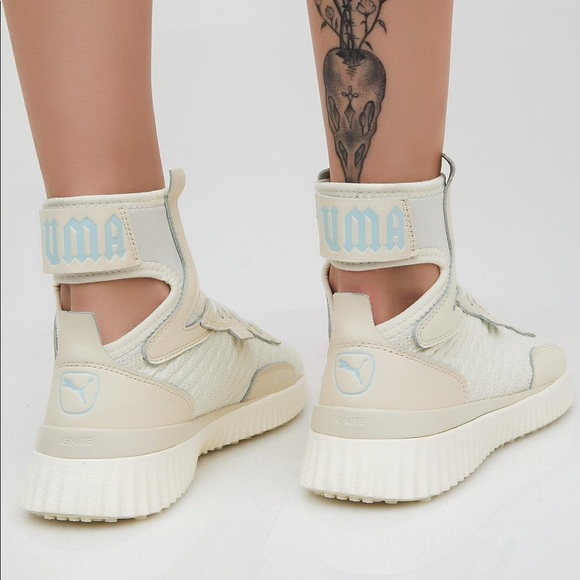 innovative design e52af 89b15 💥LAST CALL💥PUMA FENTY TRAINER MID GEO SNEAKERS NWT